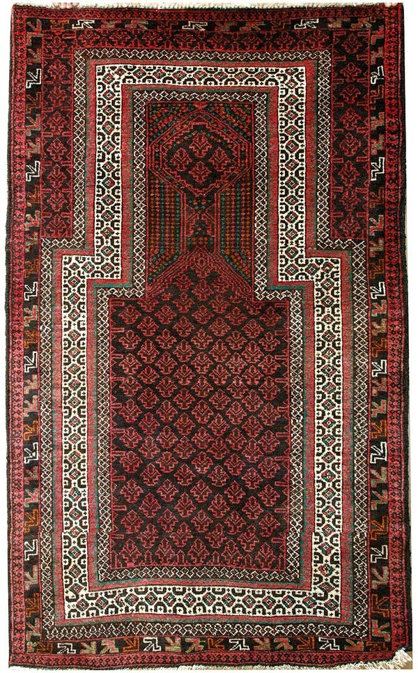 Prayer 3x5 persian rug no. 2502
