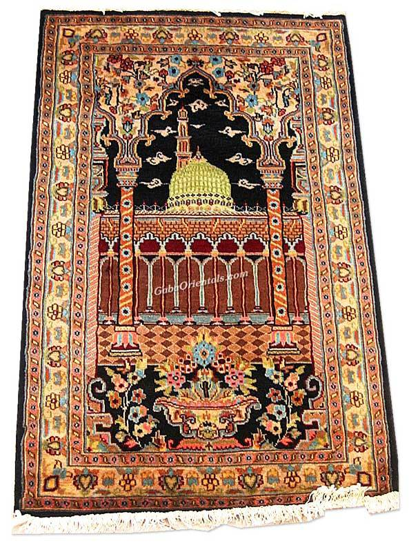 Prayer 2.5 x 4 persian rug no. 2505