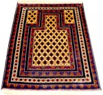 Prayer 3x5 persian rug no. 25091