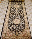 Silk 2.5x10 ft persian rug no. 66021