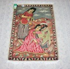 Omer Khayyam The poet silk pictorial 2x3 ft persian rug no. 67341