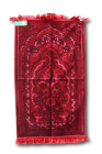 TURKISH VELVET PRAYER RUG no 21