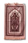 TURKISH VELVET PRAYER RUG no 31