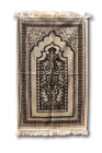 TURKISH VELVET PRAYER RUG no 11