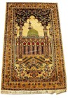Prayer 2.5x4 persian rug no. 25061